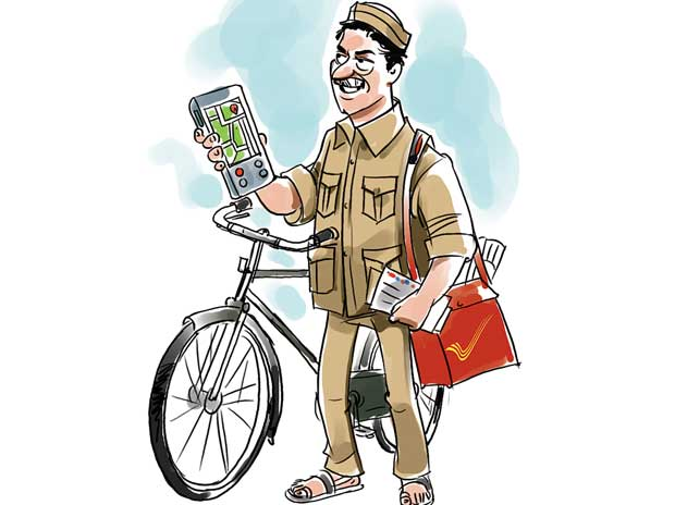 indian postman