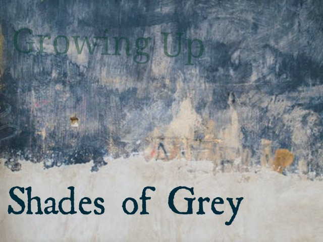 growing up shades of grey